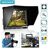 Photo : Neewer NW759 7Inch 1280x800 IPS Screen Camera Field Monitor with 1 Mini HDMI Cable for BMPCC,AV Cable for FPV, 16:10 or 4:3 Adjustable Display Ratio for Sony Canon Nikon Olympus (Battery not included)