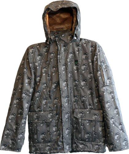 Hemp Hoodlamb Mens Tech 4 20 Sam Flores Art Jacket M Gray