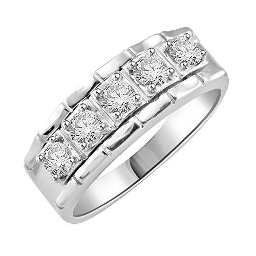 0.65 Ct Genuine Diamonds - 3