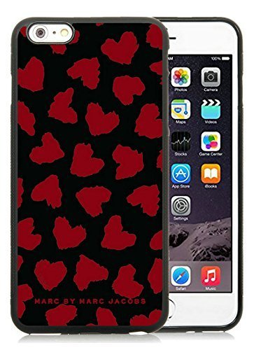 Iphone 6 Plus Cases Custom Design Marc by Marc Jacobs 18 Cell Phone Tpu Cover Case for Iphone 6 Plus 5.5 Inch Black