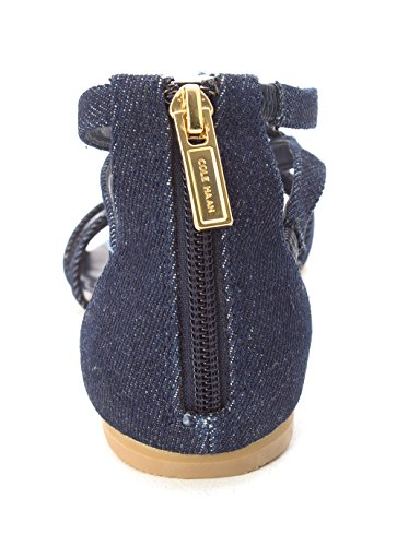 Open Cole 14A4110X Casual Denim Strappy Haan Toe Womens Sandals UqBtZ