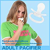Adult Sized Pacifier Dummy for Adult Baby ABDL