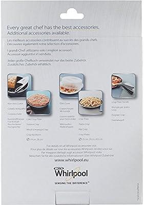 Whirlpool STM008 - menaje para microondas (Steamer, Púrpura, Color ...