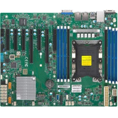Supermicro MBD-X11SPL-F-B Xeon Single Socket S3647 C621 Max.1TB PCI Express ATX Brown Box (Supermicro Motherboards)