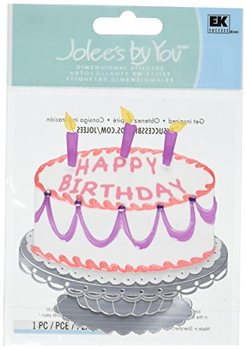 Jolee's By You Dimensional Sticker, Extravagant Cake