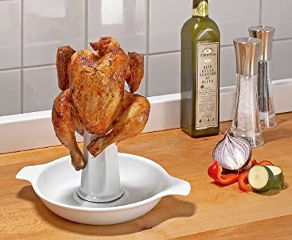 WENKO asar pollos con mango extraíble - porcelana - Soporte ...