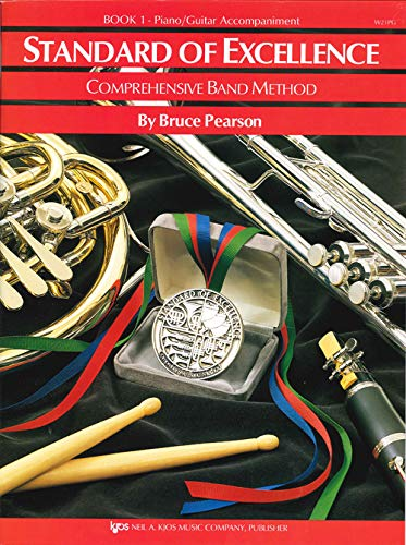 - W21PG - Standard of Excellence Book 1 Piano/Guitar Accompaniment