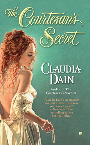 book cover of The Courtesan\'s Secret