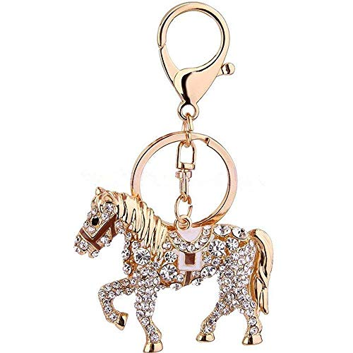 - horse shape Women and Grils Opal Keychain/car Key Pendant