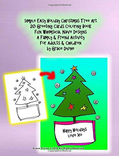 naive art christmas cards