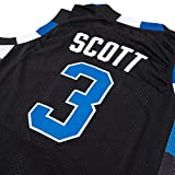 Mens Basketball Jersey Lucas Scott #3 Ravens