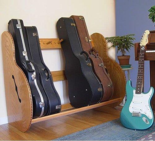The Studio Deluxe Guitar Case Rack