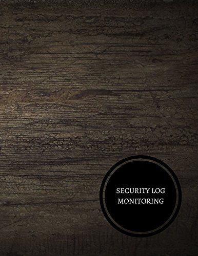 Security Log Monitoring  Security Incident Log Book