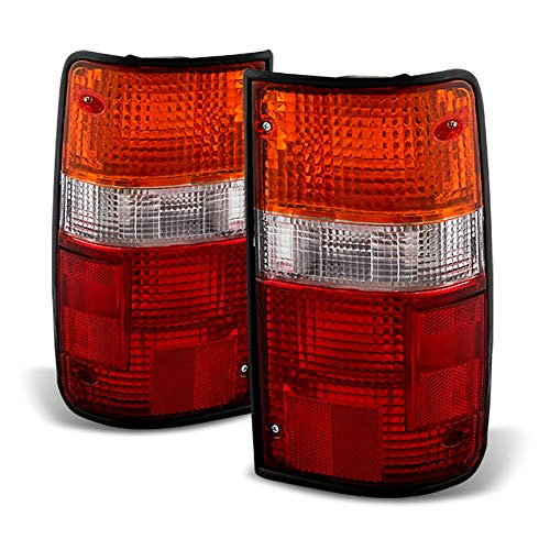 ACANII - For 1989-1995 Toyota Pickup Tail Lights Brake Lamps Replacement Left+Right ()