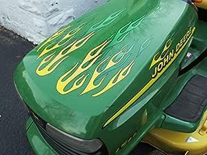 Flame - Adhesivos para tractor cortacésped de equitación John ...