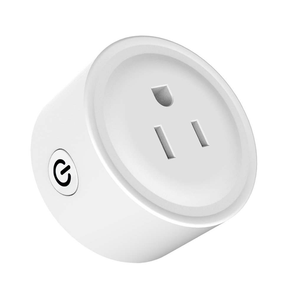 Docooler Wifi Smart Socket Compatible with Amazon Alexa Wireless Remote Control Light Switch