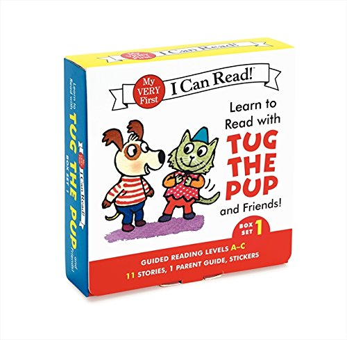 Learn to Read with Tug the Pup and Friends! Box Set 1: Levels Included: A-C (My Very First I Can - Wood Pug