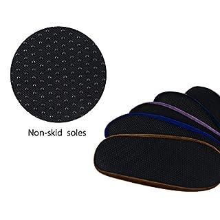 NKTM Non-Slip Washable Reusable Shoe Covers - non-skid soles