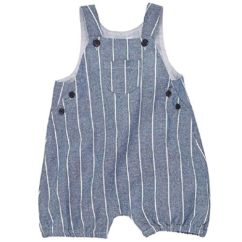 Mud Pie Baby Boy's Ticking Bubble (Infant) Blue 6-9 Months