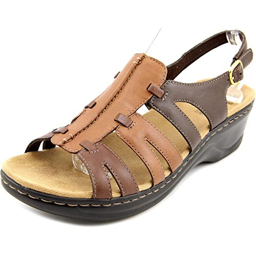 Clarks Lexi Marigold Mujer Sandalia Brown Multi leather