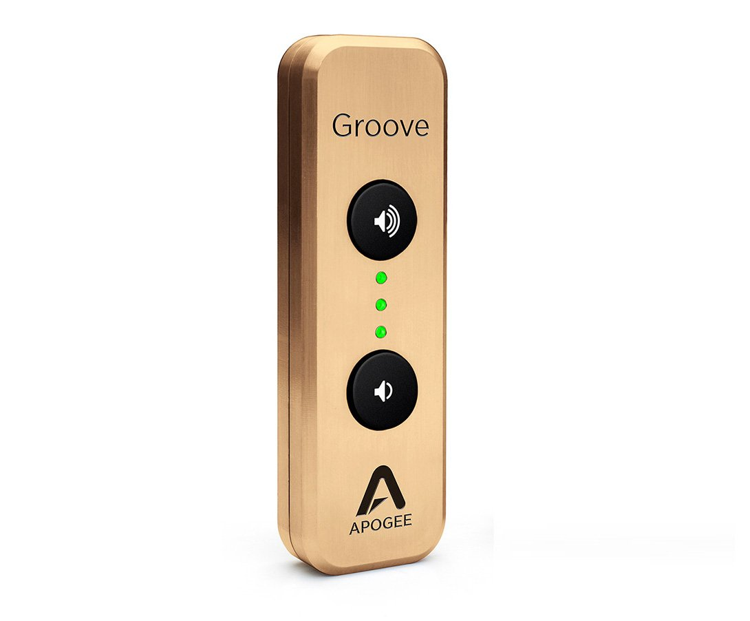 Apogee Groove 30th Ann. Gold USB DAC ポータブルヘッドフォンアンプ 【正規輸入品】 32bit/192kHz対応 Mac & PC対応   B01L7KA6KK