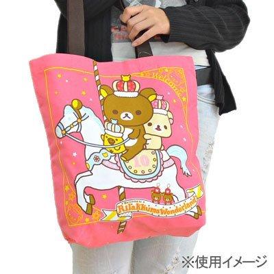 Rilakkuma Tote BAG (Wonderland) Pink (japan import)