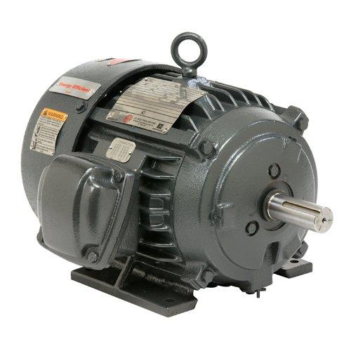 US Motors (Nidec) YC1P3B - Explosion Proof/Hazardous Location Motor - 3 ph, 1 hp, 1200 rpm, 230/460 V, 145T Frame, TEFC Enclosure, 60 Hz - Motor Location Hazardous