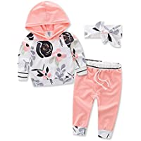 samgani baby Girls boy cotton Ink printing Dot long pants Suit kids Leisure time clothes motion clothing set Size 6M-3Y