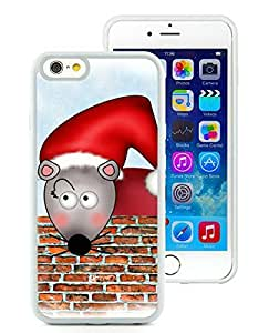 Diy iPhone 6 Case,Christmas Mouse White iPhone 6 4.7 Inch TPU Case 1