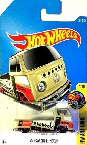 Hot Wheels 2017 HW Art Cars Volkswagen T2 Pickup 201/365, Ta