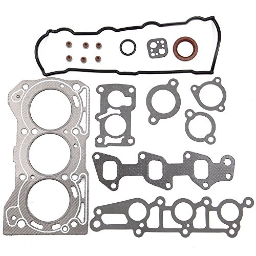 ECCPP Replacement for Head Gasket Set for 89-00 Geo Metro Chevrolet Sprint Pontiac 1.0L SOHC Engine Head Gasket