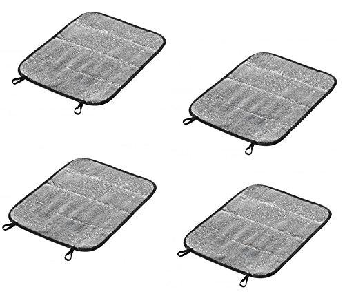 4x Thermo Outdoor Sitzauflage 35x40cm | Iso Kissen | Thermokissen | Sitzunterlage