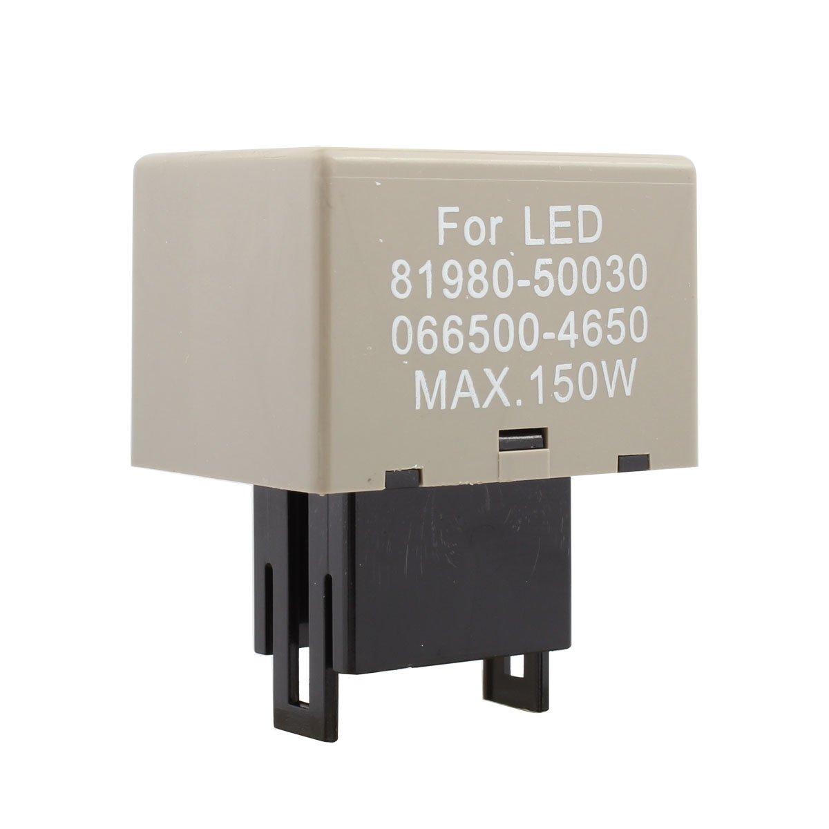 TOMALL 8Pin Adjustable LED Turn Signal Light Electronic Relays Flasher for Toyota Lexus SUZUKI CF18
