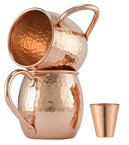 Moscow Mule Copper Mugs Glass product image