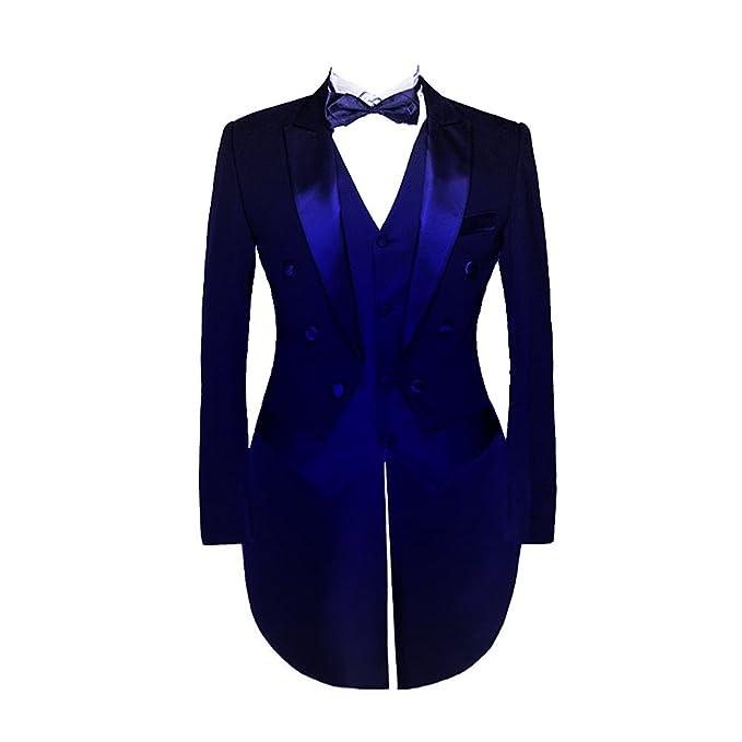 Suit Me Hombre 3-Piece Traje Vestido Traje Traje Chaqueta ...
