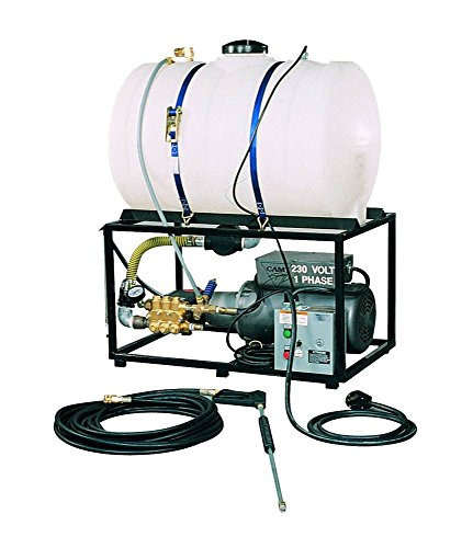 Cam Spray 3040STAT Stationary Mount Electric Powered Cold Water Pressure Washer, 3000 psi, 50' Hose from Cam Spray