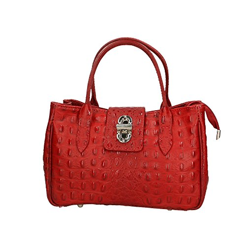 Made Italy Genuine Leather 25x17x12 In Woman's Cm Aren Purse Red qBFUvwax