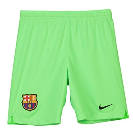 Image Unavailable. Image not available for. Color  Nike 2018-2019 Barcelona  Away Goalkeeper Shorts (Green) ... 686be161504