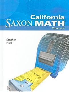Saxon math intermediate 5 california student edition vol 1 2008 california saxon math intermediate 5 vol 2 fandeluxe Gallery