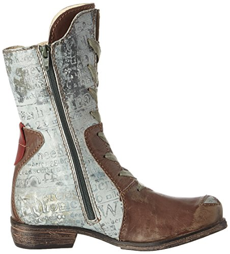Cuero Rovers Marron Femme Vino Bottines braun Grey BqxH7xwFg
