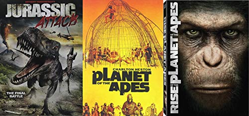 The Sci-Fi of Future Past - Rise of the Planet of the Apes (2011), Jurassic Attack & Planet of the Apes (1968)