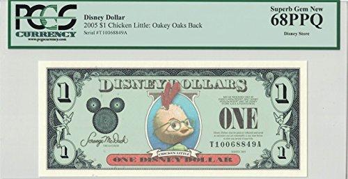 - Disney Dollar 2005 Chicken Little $1 T10068849A PCGS 68 PPQ Superb Gem New