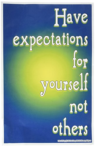 Youth Change Inspirational Counseling and Classroom Management Poster About Expectations #479