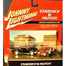 Johnny Lightning Starsky & Hutch American Flashbacks In Time 1:64 Scale Diorama. Die-Cast Metal Body and Chassis. Authentic Life-Like Rubber Tires. 1974 ford Torino & 1969 Lincoln Continental.