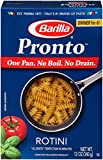 Barilla Pronto Pasta, Rotini, 12 Ounce (Pack of 8)