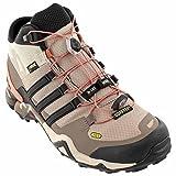 adidas Outdoor Women's Terrex Fast R Mid GTX? Vapour Grey/Black/Tech Earth Sneaker 8 B (M)