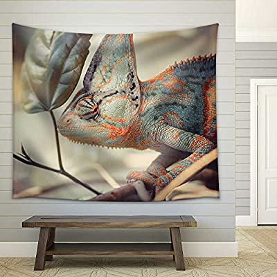Handsome Creative Design, Made With Love, Yemen Chameleon Fabric Wall