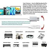 MeloAudio USB C to USB B 2.0 MIDI Cable, Type C