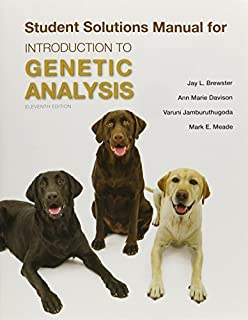 amazon com introduction to genetic analysis 9781464109485 rh amazon com introduction to genetic analysis 11th edition solutions manual pdf free introduction to genetic analysis solutions manual 9th edition pdf