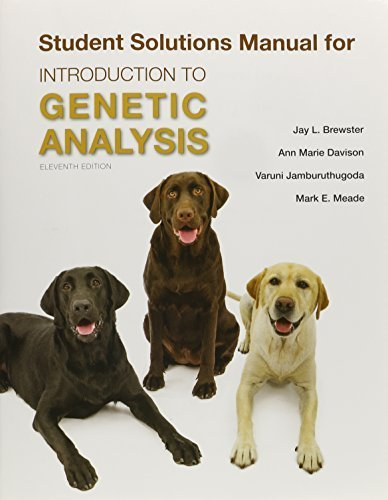 Solutions Manual for Introduction to Genetic Analysis by Anthony J.F. Griffiths (2015-01-12)